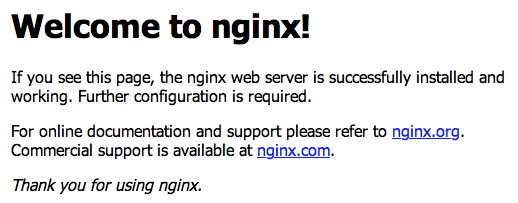 WelcomeToNginx